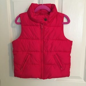 Pink Puffer Vest from GAP Kids